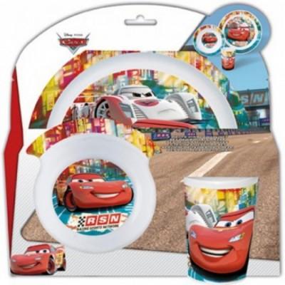 Conjunto Refeição Melamina Disney Cars RSN