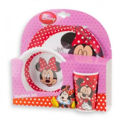 Conjunto refeição melamina Minnie Mouse