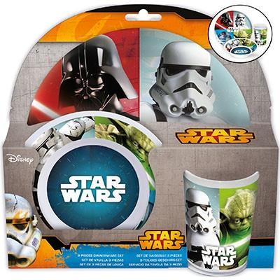 Conjunto refeição Star Wars Melalina