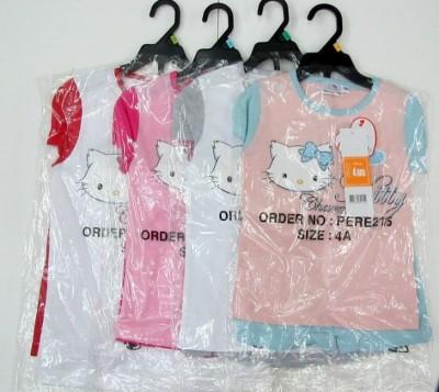Conjunto T-Shirt + Calção Charmmy Kitty