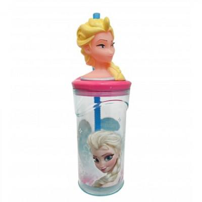 Copo 3D Elsa Frozen