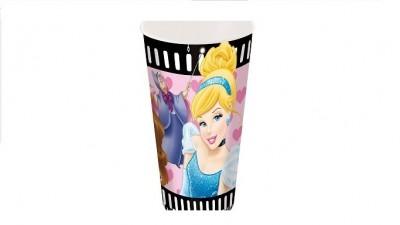 Copo cinema plastico Disney Princesas