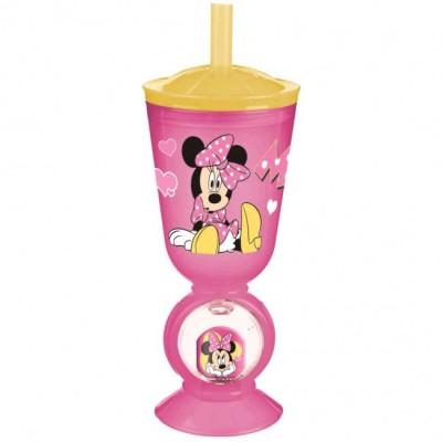 Copo com figura 3d de Minnie Mouse