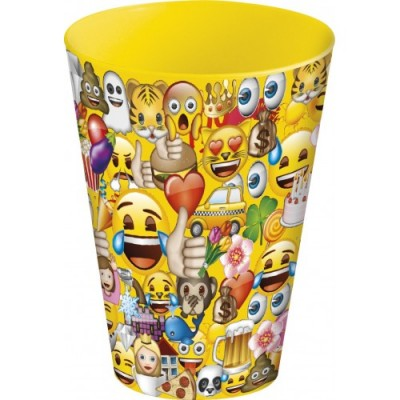 Copo Empilhavel Emoji 270ml