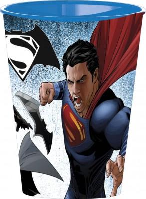 Copo Plastico DC Superman VS Batman