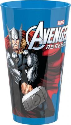 Copo plástico Marvel Avengers