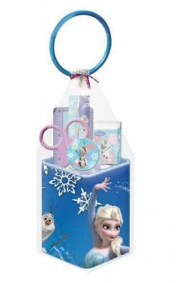 Cubo Metal papelaria Frozen 5 pcs
