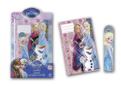 Diario caderno Frozen Shine