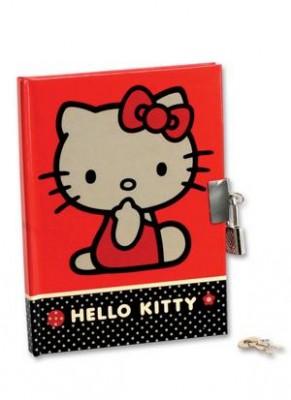 Diario Hello Kitty com cadeado