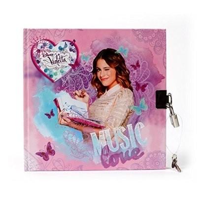 Diario Violetta Music Love c/ cadeado