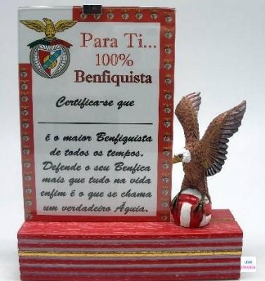 Diploma da Aguia do Benfica