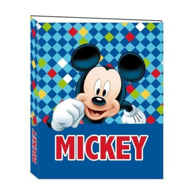 Dossier 2 Argolas Mickey Color Diamond A4