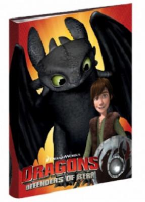 Dossier 4 argolas A4 Dragons Defenders