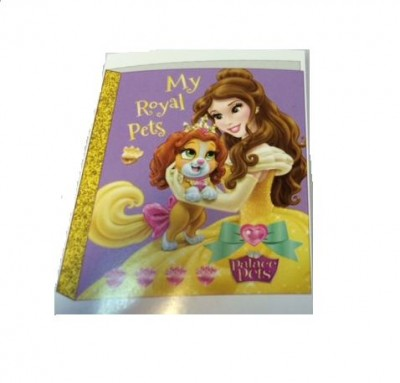 Dossier 4 argolas Palace Pets das Princesas Disney