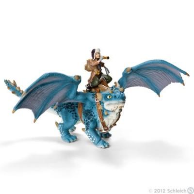 Dragão azul c/ Shansy