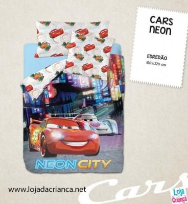 Edredon Cars Neon