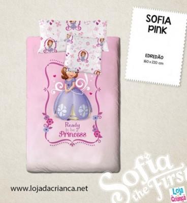 Edredon Princesa Sofia Pink