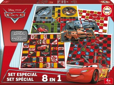 Educa - Pack Jogos Disney Cars McQueen 8 em 1