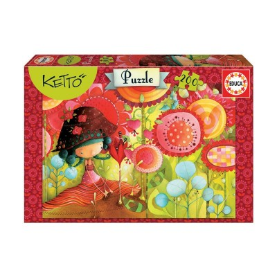 Educa - Puzzel 200 Jungle of Flowers Ketto