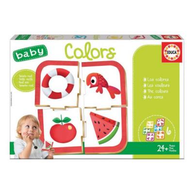 Educa - Puzzle Infantil Baby Colors
