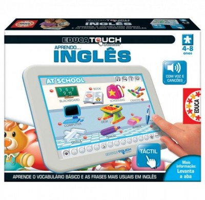 Educa Touch Junior Aprendo Inglês