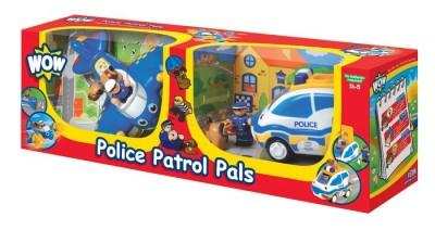 Equipa de resgate Avião + Carro Polícia WOW