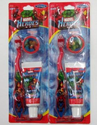 Escova de Dentes Marvel c/ Capa