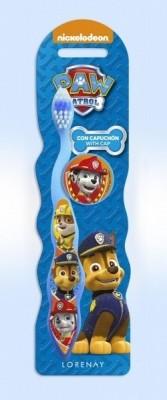 Escova dentes patrulha pata
