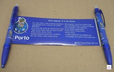 Esferografica com Hino do Porto