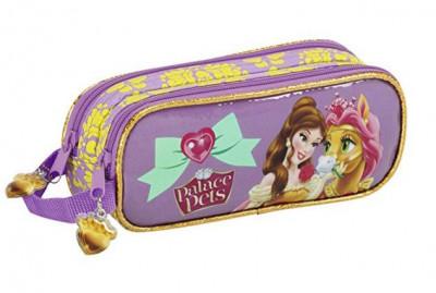 Estojo Duplo Disney Princesas Pets