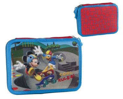 Estojo duplo Mickey & Donald Skate