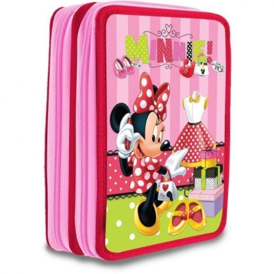 Estojo Duplo Plumier Minnie Mouse