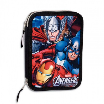 Estojo duplo plumier Vingadores Avengers Marvel Twister