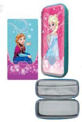 Estojo Escolar Disney Frozen 3D Eva