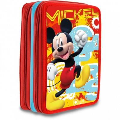 Estojo Escolar Duplo Mickey