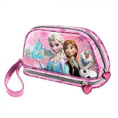 Estojo escolar Frozen Sister Queen Pink