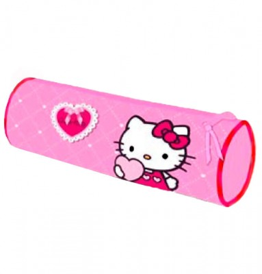 Estojo escolar Hello Kitty Loves