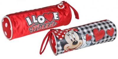 Estojo escolar I Love Minnie Redondo