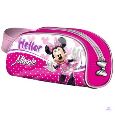 Estojo Escolar Minnie Hello