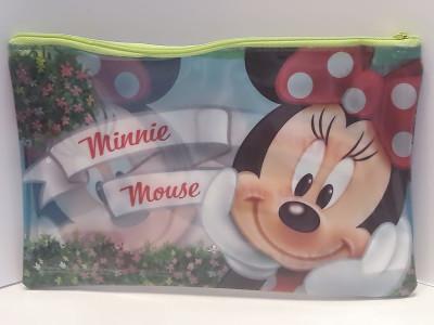 Estojo Escolar Minnie Transparente