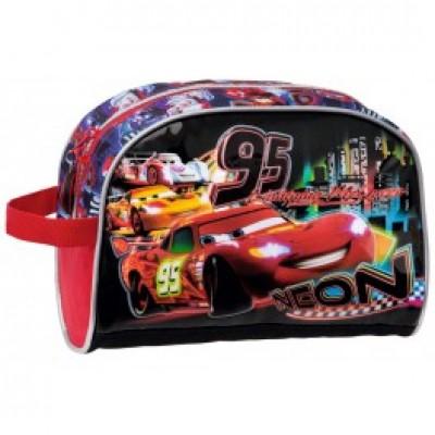 Estojo escolar necessaire Disney Cars 95 Neon