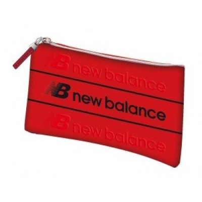 Estojo escolar New Balance Plano red