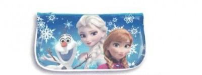 Estojo escolar plano Frozen Friends