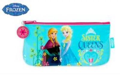 Estojo escolar plano Frozen Sister Queen