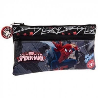 Estojo escolar plano Marvel Spiderman Go Spider