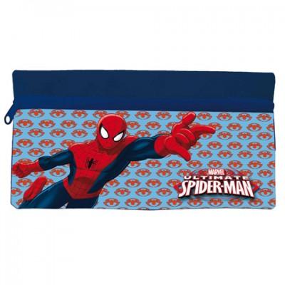 Estojo escolar plano Marvel Ultimate Spiderman