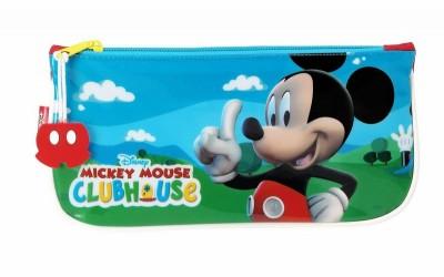 Estojo escolar plano Mickey Club House