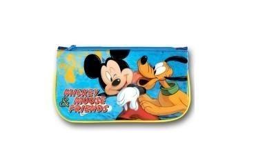 Estojo Escolar plano Mickey e Pluto