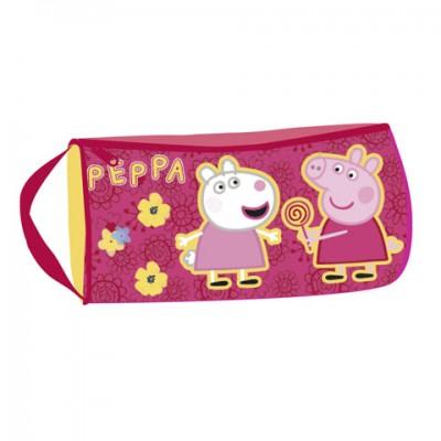 Estojo Escolar Porquinha Peppa Flower