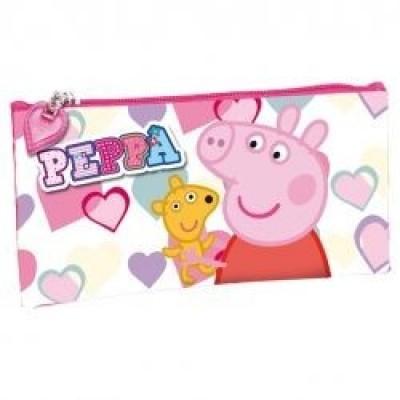 Estojo Escolar Porquinha Peppa Hearts